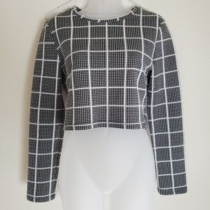 Where are you from long sleeved crop top